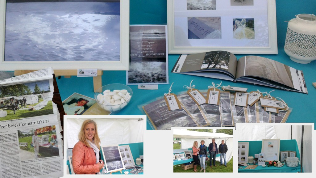 Op zaterdag 31 mei jl. heeft EWHOOB een kleine bijdrage geleverd door haar creativiteit in woord en beeld onder de aandacht te mogen brengen tijdens het evenement Kunstwark in 't Park