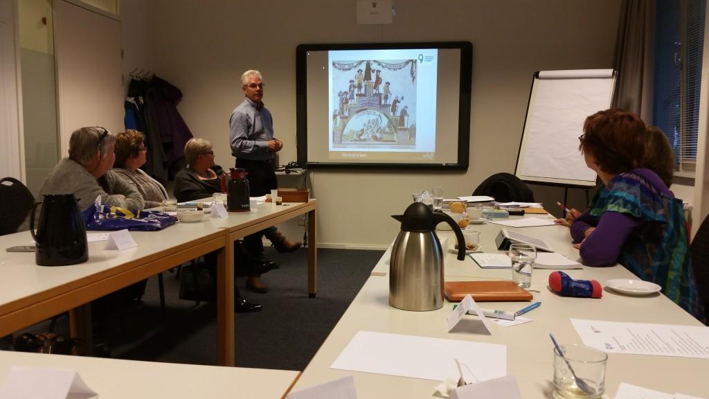 Training verzorgd door dhr. W. Huizing, relief.nl