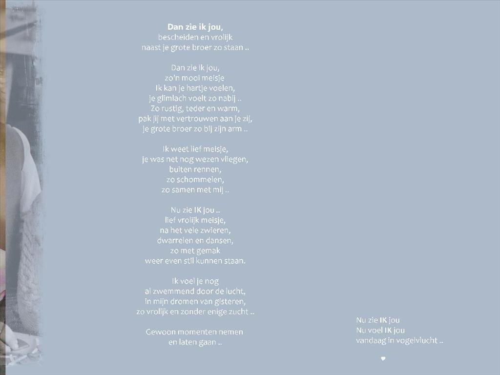 Betere Gedichten voor het overlijden - EWHOOB.nl CD-35